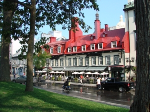Typical Street in Old Quebec