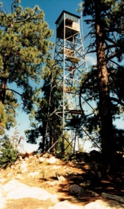 One of Many Fire Towers We 'Bagged'