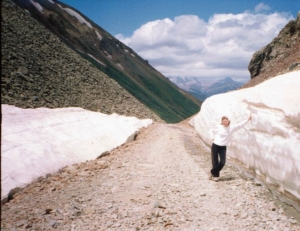 Ophir Pass in July