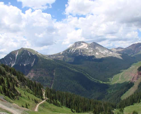 On the Road to Clear Lake, Near Silverton