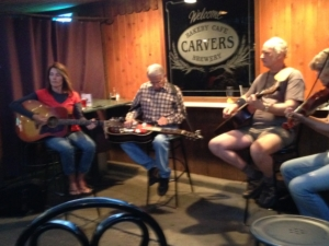Playing at Carvers, Downtown Durango