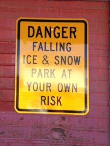 Sign in Crested Butte