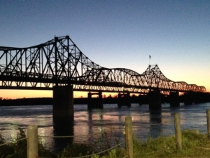 Bridge at Vicksburg, Mississippi