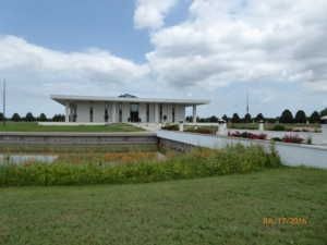Stuhr Museum- Notice the Mote