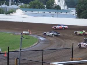 Friday Night Stock Races in Iowa