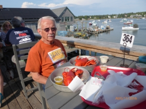 Lobster Every Night in Maine